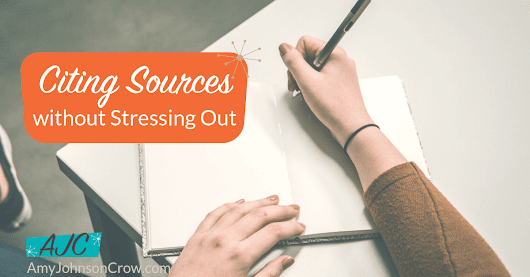 Citing Sources Without Stressing Out