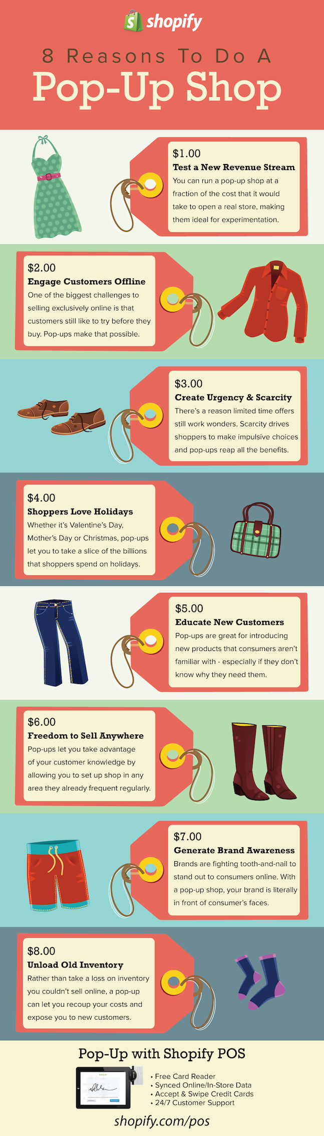 Infographic: 8 Reasons To Do A Pop-Up Shop