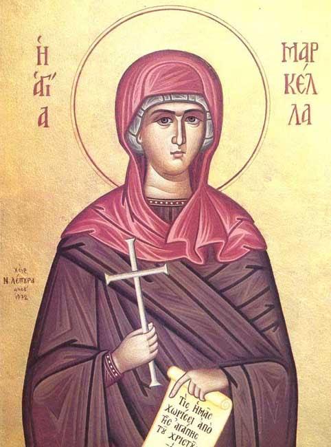 IMG ST. MARKELLA, Virgin Martyr