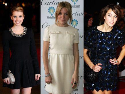 שמלות בסגנון וינטג': אלכסה צ'אנג, סיינה מילר, ואמה
