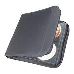 Staples 128-Disc CD/DVD Wallet - Black