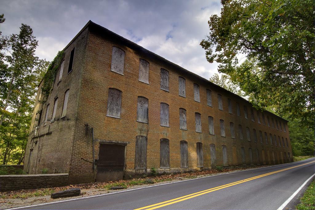 Falls City Cotton Mill, Rock Island SP, Warren Co, TN