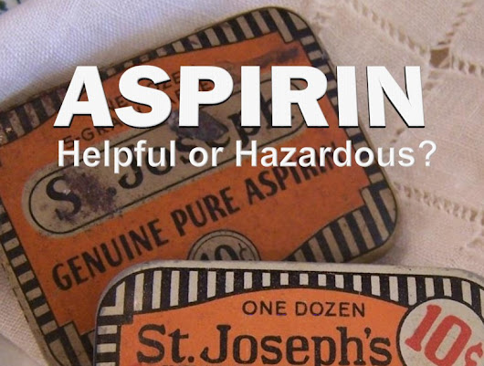 Free Report On The Dangers Of Aspirin | Advanced Spinal Care Center
