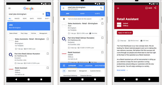 Google's mega-helpful job search tool finally arrives in the U.K. - Android Authority