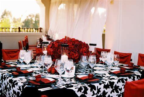 Black, Red & White Wedding   Wedding Flair