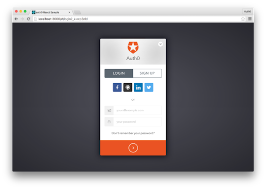 Passwordless Authentication with React and Auth0 — JavaScript Scene