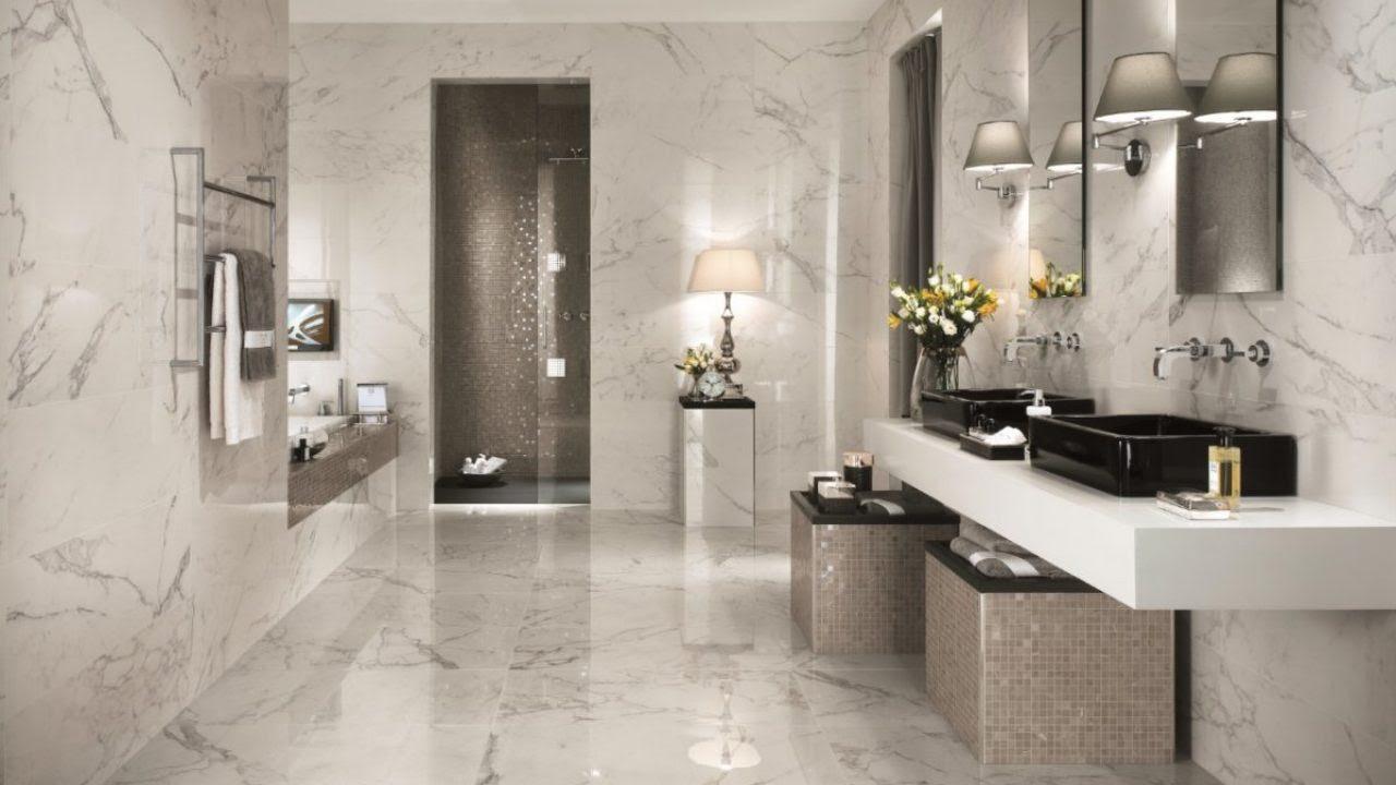 Marble Effect Tiles Bathroom Ideas - Home Architec Ideas