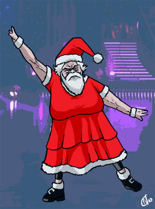 10 - Santa Widdecombe