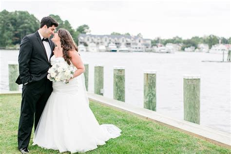Chesapeake Bay Maritime Museum Wedding Photos Maryland