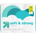 Soft & Strong Septic Safe Toilet Paper - 18 Mega Rolls - Up&Up
