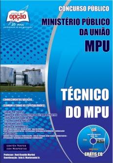 Ministério Público da União - MPU-TÉCNICO DO MPU-ANALISTA DO MPU