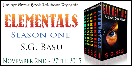 Upcoming Book Tour For Elementals (Complete Season One Boxed Set)