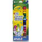 Crayola Pip-Squeaks Markers, Washable, 16 Unique & Bright Colors - 16 markers