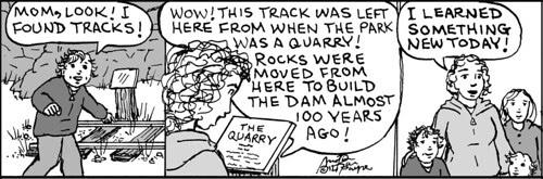 Home Spun comic strip #716