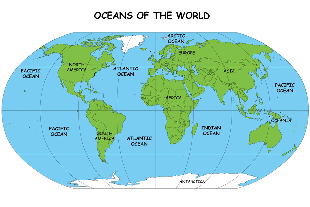 Earth Map For Kids | GOOGLESAND on