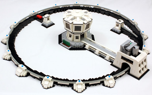 This Lego particle accelerator should be the next brick separator
