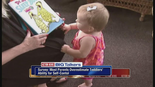 Survey: Parents expecting too much from toddlers |