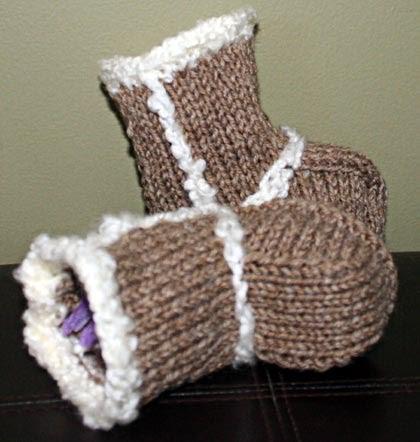 Best Trend Fashion 2012 Ugg Boots Knitting Pattern
