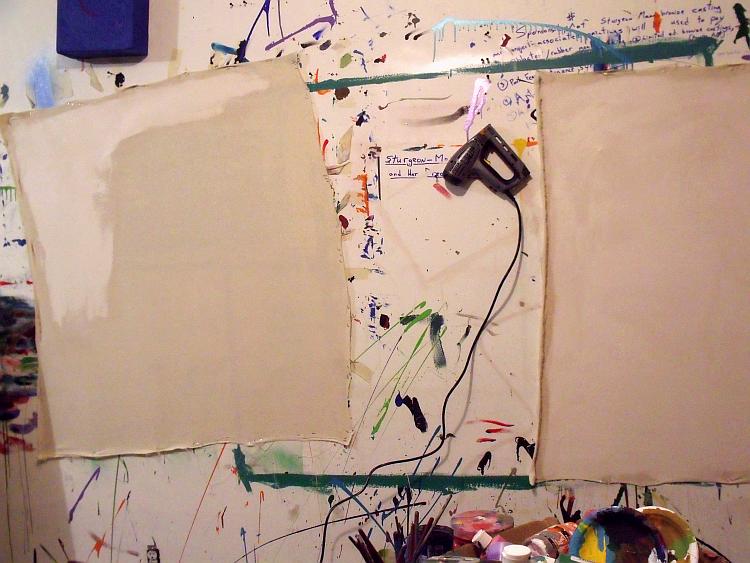 #BingoRageStudio: New canvases; LoonFamily (ala Norval ...
