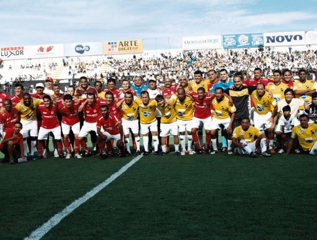 Craques como Souza, Moura, Joãozinho e Tecy estarão em campo no domingo (Foto: Wiliman Oliveira)