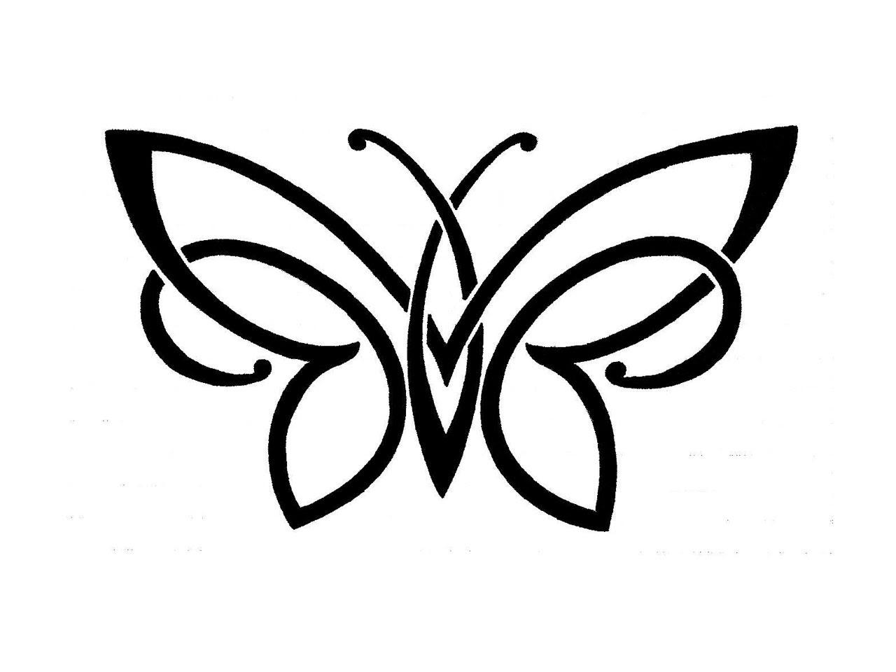Simple Black And White Tattoo Designs Tattoos Designs Ideas