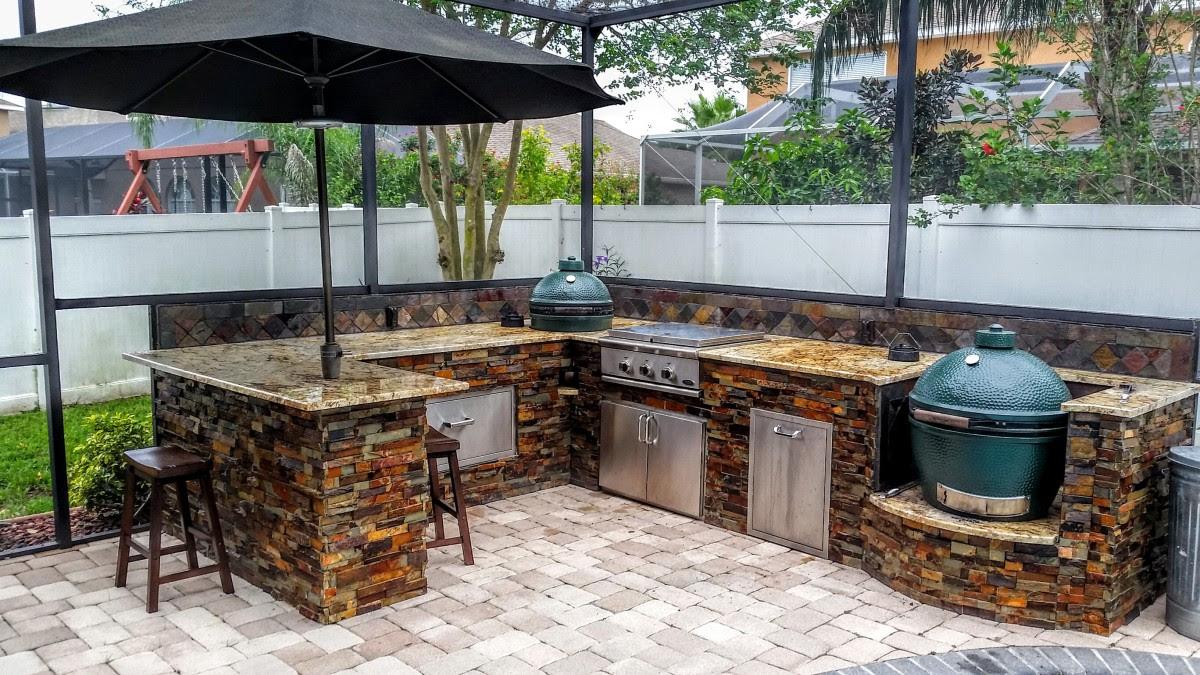 Creative Outdoor Kitchens Big Green Egg - Creative Outdoor Kitchens