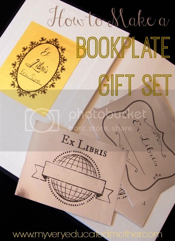 #holidaygiftsHOA Bookplate Gift Set #giftidea #quickandeasy