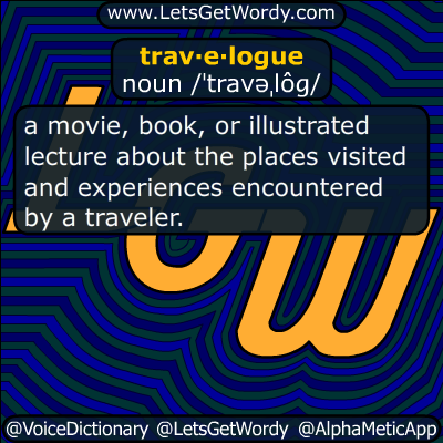 travelogue 07/18/2016 GFX Definition