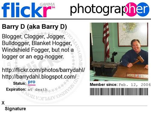 Barry D Flickr Badge(2)