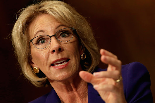 Breaking: Democrats are holding the Senate floor for 24 hours to protest Betsy DeVos' Nomination