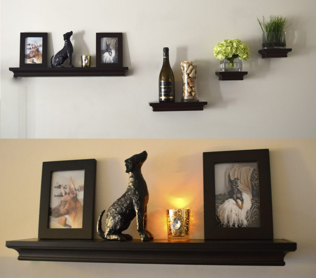 Creative Uses of Floating Shelves from IKEA for Stylish ...