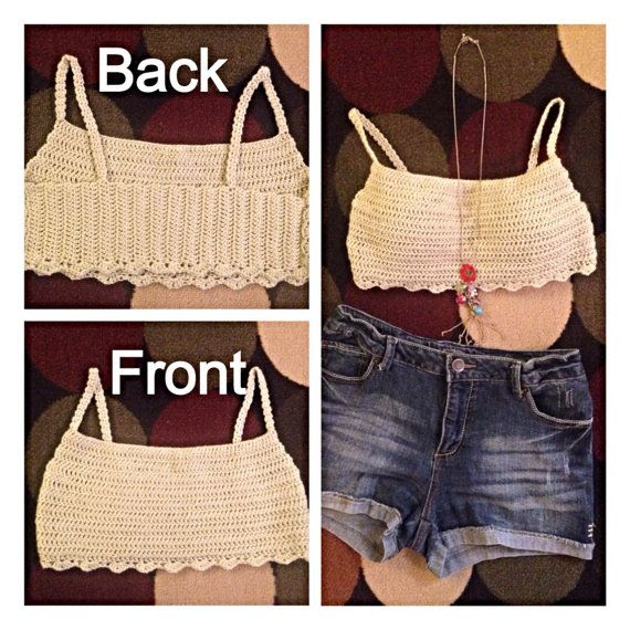 Festival crop top on Etsy, $25.00 #coachella #fashion