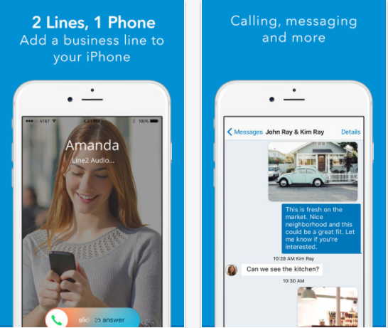 25 Android and iPhone Second Phone Number Apps for Business Only Calls - Line2