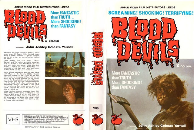 Blood Devils (VHS Box Art)