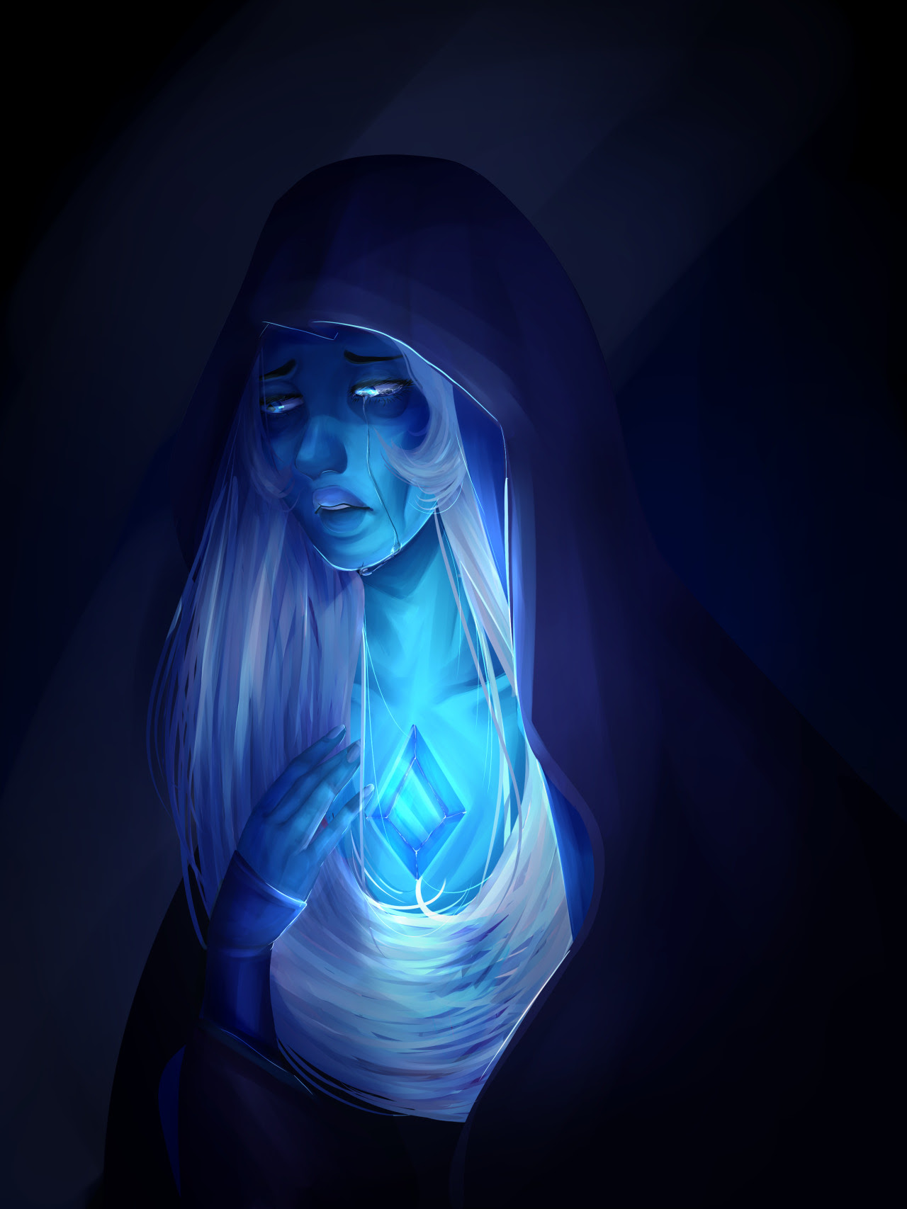 Blue diamond from Steven universe I really love her
