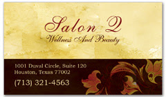 BCS-1010 - salon business card
