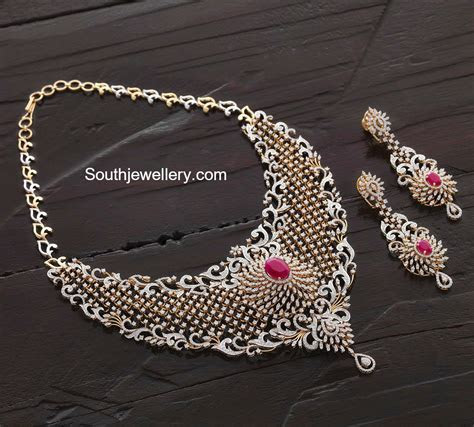 49 Swarnamahal Wedding Necklace Designs, Bridal Diamond