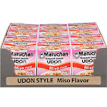 Maruchan Udon Style Miso Instant Lunch - 2.25 oz.