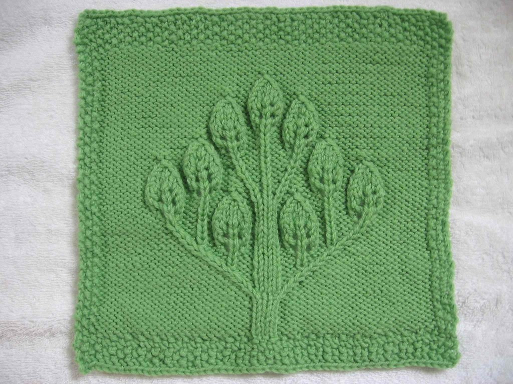 Candle Tree square for Blanket Project