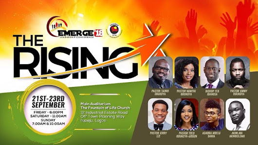 Sunday Service Emerge Leadership Conference 2018 The Fountain of Life Church - Daily Inspirational devotionals