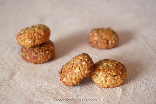 Coconut oat cookies