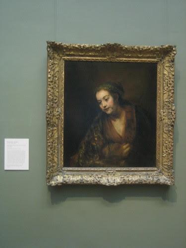 Hendrickje Stoffels (1626–1663), mid-1650s, Rembrandt (Rembrandt van Rijn) _8285