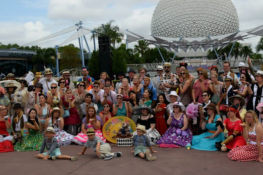 How to Do Dapper Day at Disney World - Sand and Snow