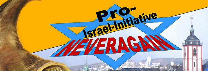 "Pro-Israel-Initiative ""neveragain"""