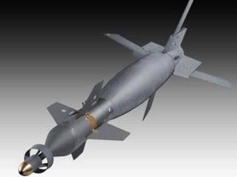 Авиабомба с комплектом наведения Paveway. Изображение с сайта raytheon.com