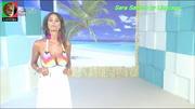 Sara Santos sensual no programa Beach Party