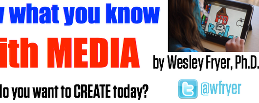 Show What You Know with Media » What do you want to create today?