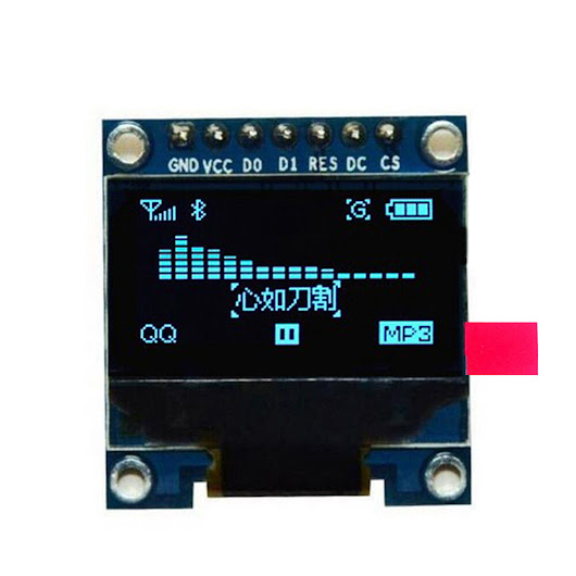 "Details about  0.96"" I2C IIC SPI Serial 128X64 OLED LCD Display SSD1306 for 51 STM32 Arduino"