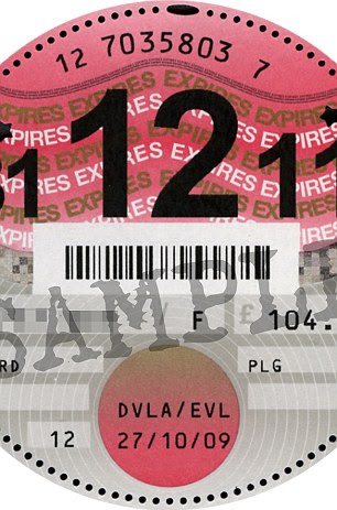End of an era: Tax discs will no longer be issued from October 1