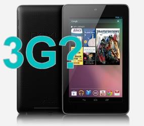 Google vai lançar o Nexus 7 3G no evento do dia 29/10 (Foto: Reprodução)